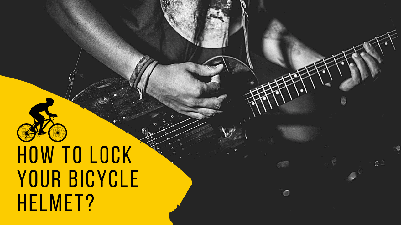 How to Lock Your Bicycle Helmet