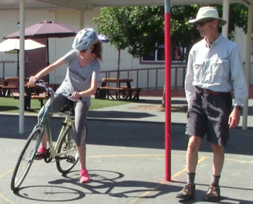 Learning to ride a bike (Source: Cyclingsavy)